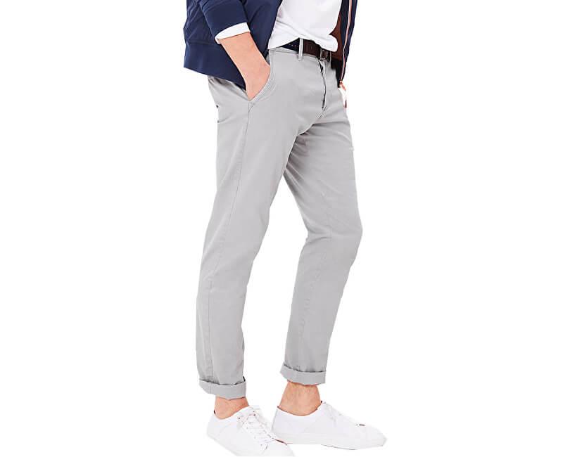 S.Oliver Pantaloni gri pentru bărbațiSlim lungime 32