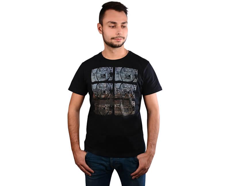 s.Oliver Pánské triko 13.710.31.5748.5990 Dark Blue