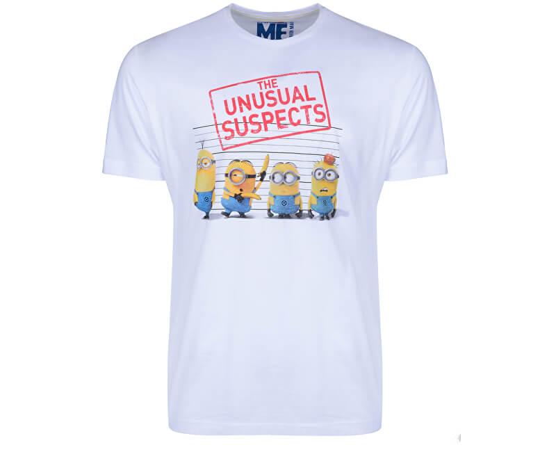 s.Oliver Pánské tričko 20.707.32.1234.91A1 White