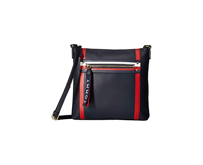 c9253cd735 Tommy Hilfiger Dámska crossbody kabelka Womens Hayden Large North   South  Tommy Navy ...