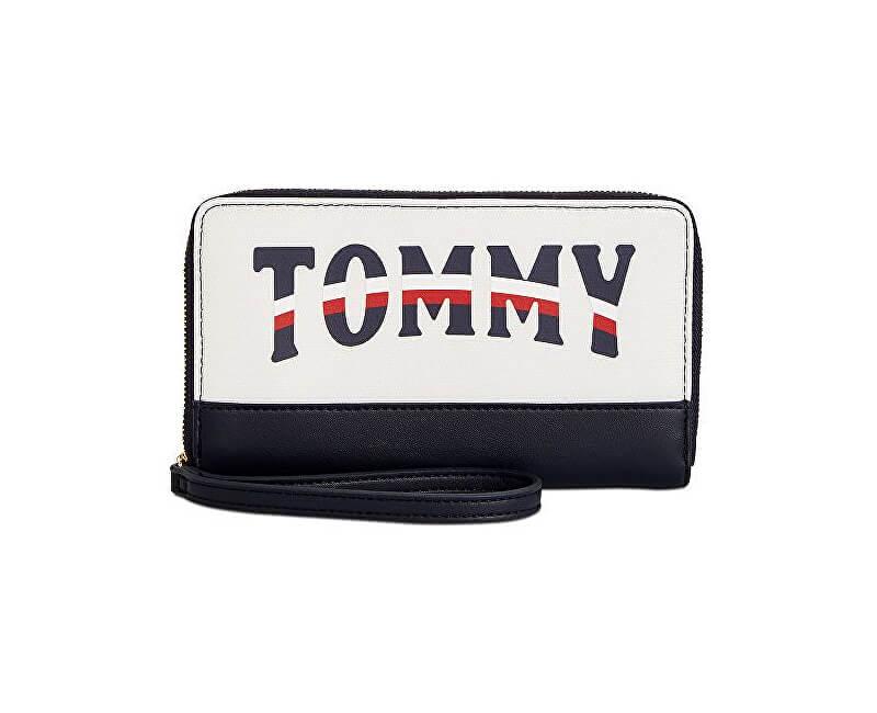a08088cf2 Tommy Hilfiger Dámska peňaženka Women`s Viola Zip Wall et Off- White ...