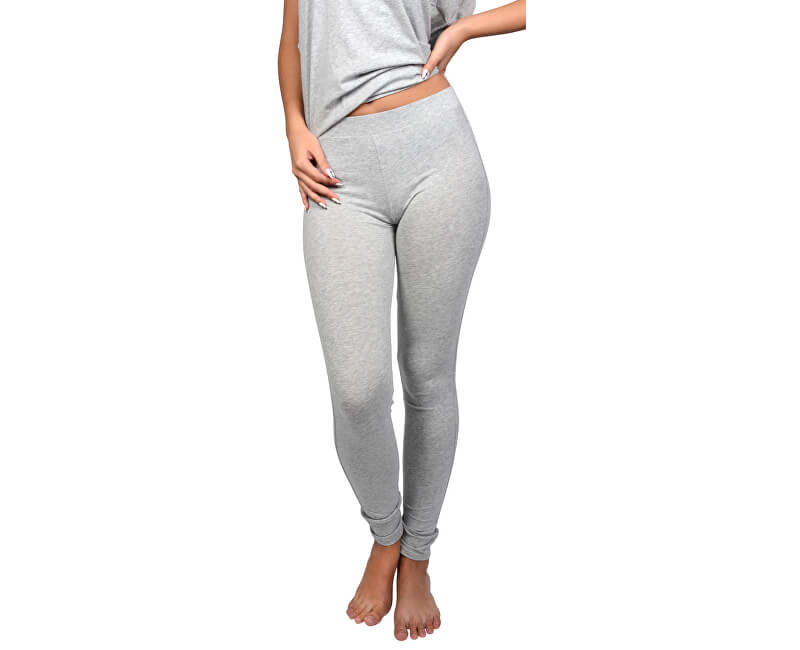 Tommy Hilfiger Dámské kalhoty Modern Classic Legging UW0UW00350-004 Grey Heather