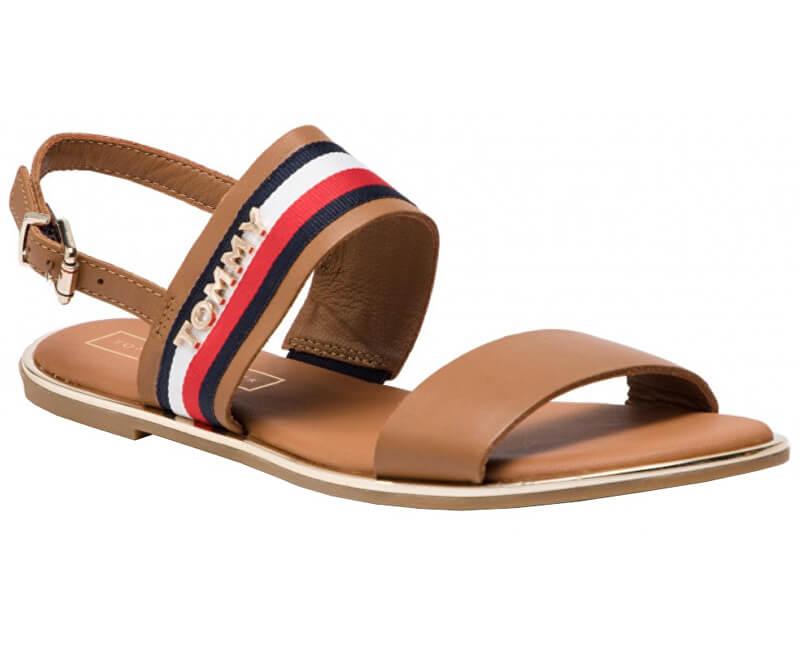 Tommy Hilfiger Dámske sandále Flat Sandal Corporate Ribbon FW0FW04049-929