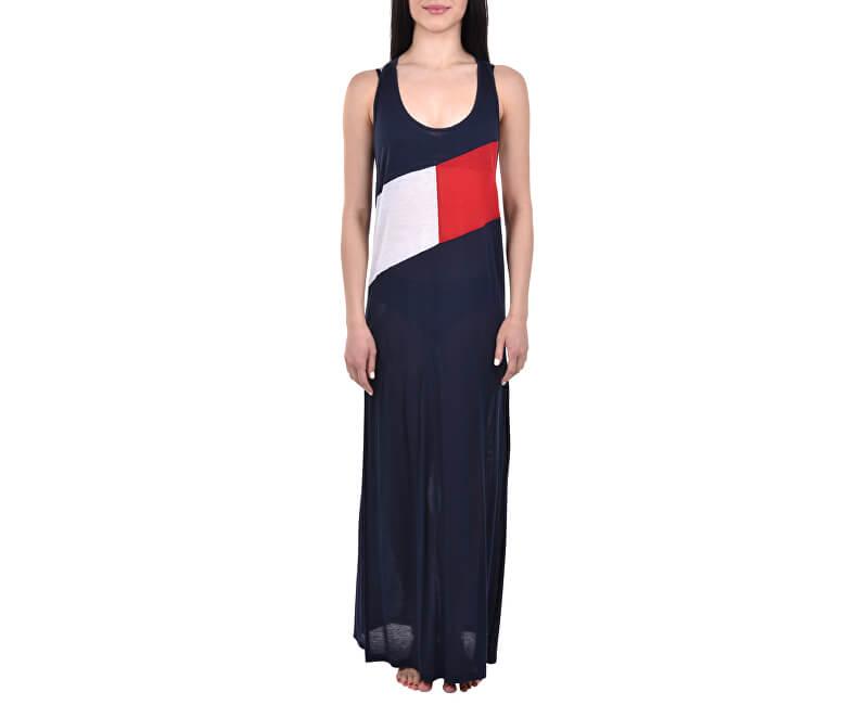 Tommy Hilfiger Dámské šaty Clb Tank Dress Navy Blazer UW0UW01525-416