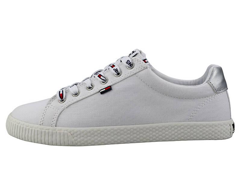8a17caf55 Tommy Hilfiger Dámske tenisky Tommy Jeans Casual Sneaker EN0EN00602-100  Novinka