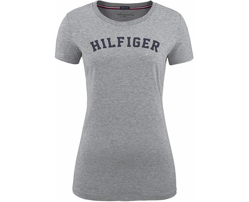 da8166ea5 Tommy Hilfiger Dámske tričko Cotton Iconic Logo SS Tee Print UW0UW00091-004  Grey Heather Novinka
