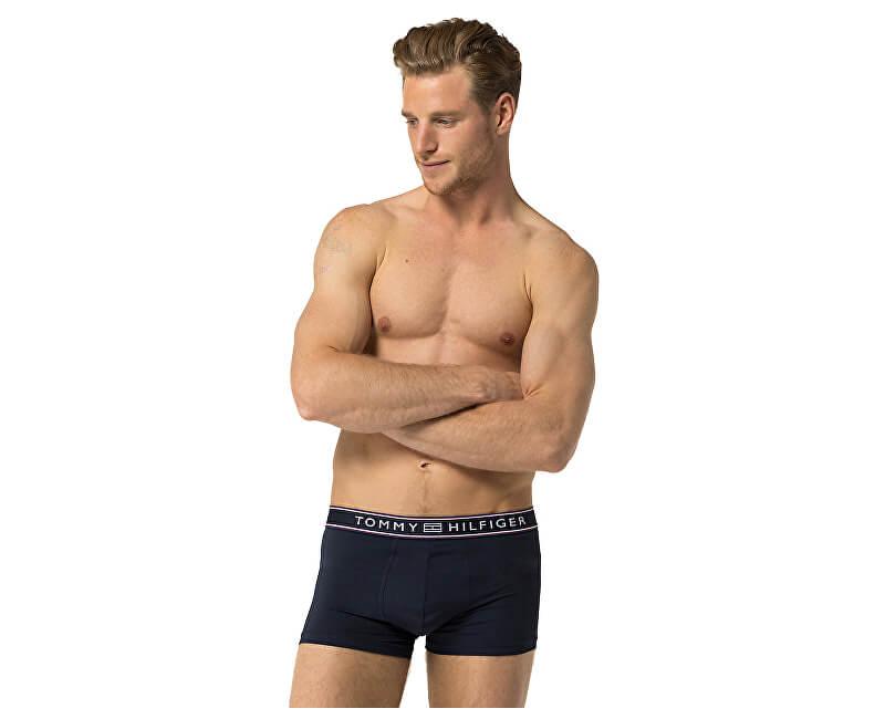 Tommy Hilfiger Pánské boxerky Stripe Micro Low Rise Trunk 1U87906052-416 Navy Blazer