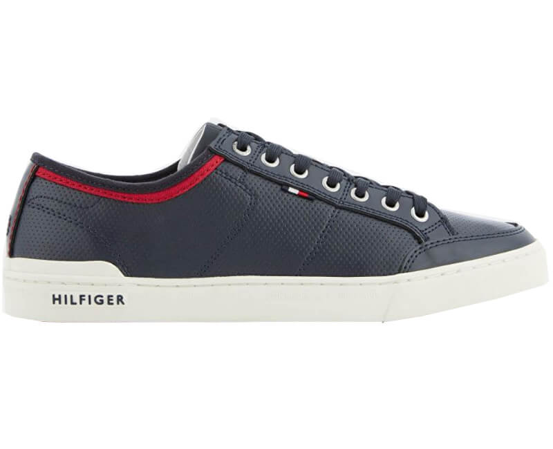 0d98bbc12 Tommy Hilfiger Tenisky Core Leather Lace Up Midnight FM0FM01903 -403 ...