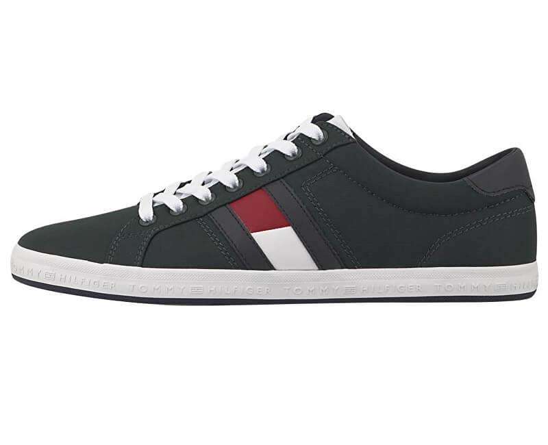 8bde88a531 Tommy Hilfiger Pánské tenisky Essential Flag Detail Sneaker FM0FM15335-300  ...
