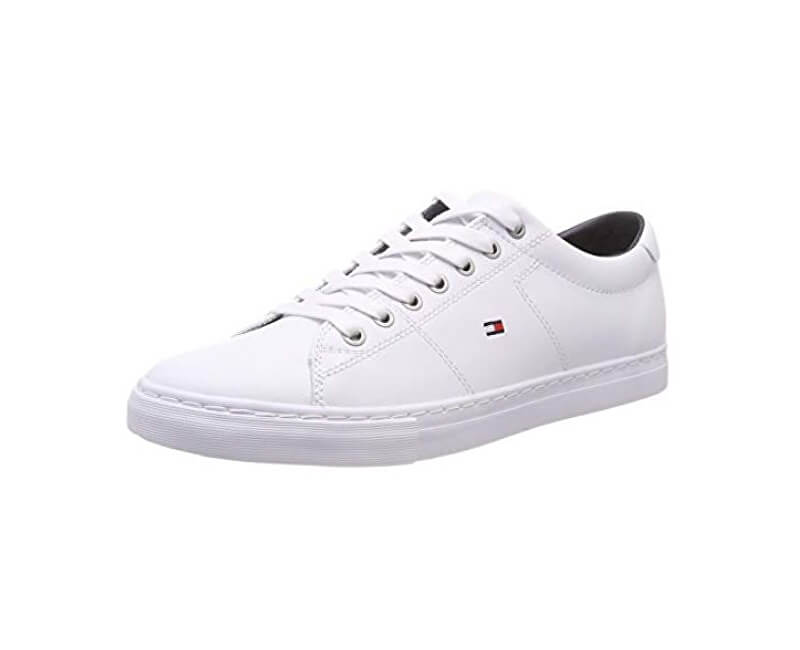 Tommy Hilfiger Tenisky Essential Leather Sneaker White FM0FM02157-100 ... 5906bd959c4