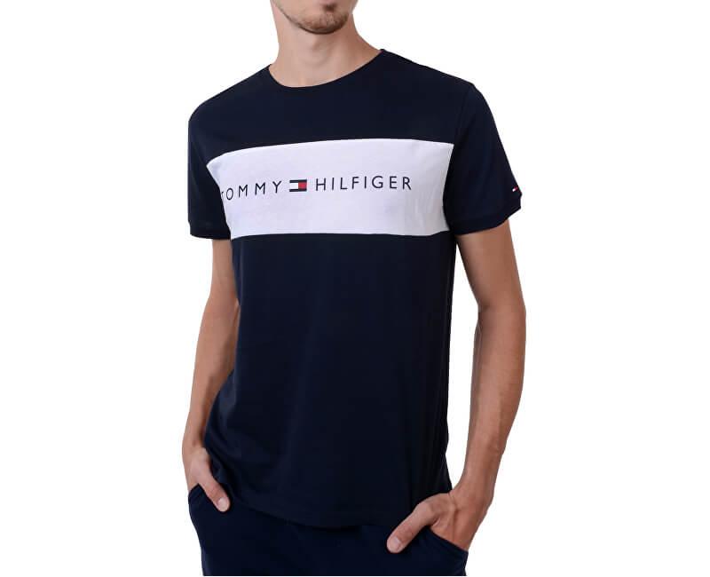 de8ee21d8c Tommy Hilfiger Pánske tričko Cotton Icon Rn Tee Ss Logo Navy Blaze r  UM0UM00963 -416 Novinka