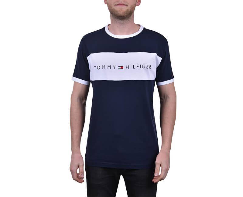 Tommy Hilfiger Pánské triko Tommy Original Cn Ss Tee Logo Flag UM0UM01170-416 Navy Blazer