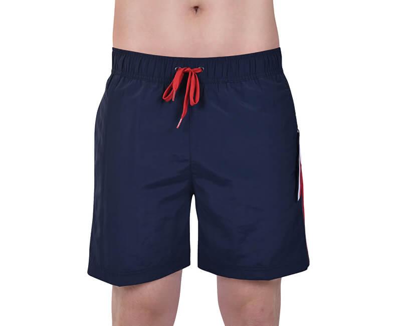 Tommy Hilfiger Plavkové kraťasy Slim Fit Medium Drawstring UM0UM01079-416 Navy Blazer
