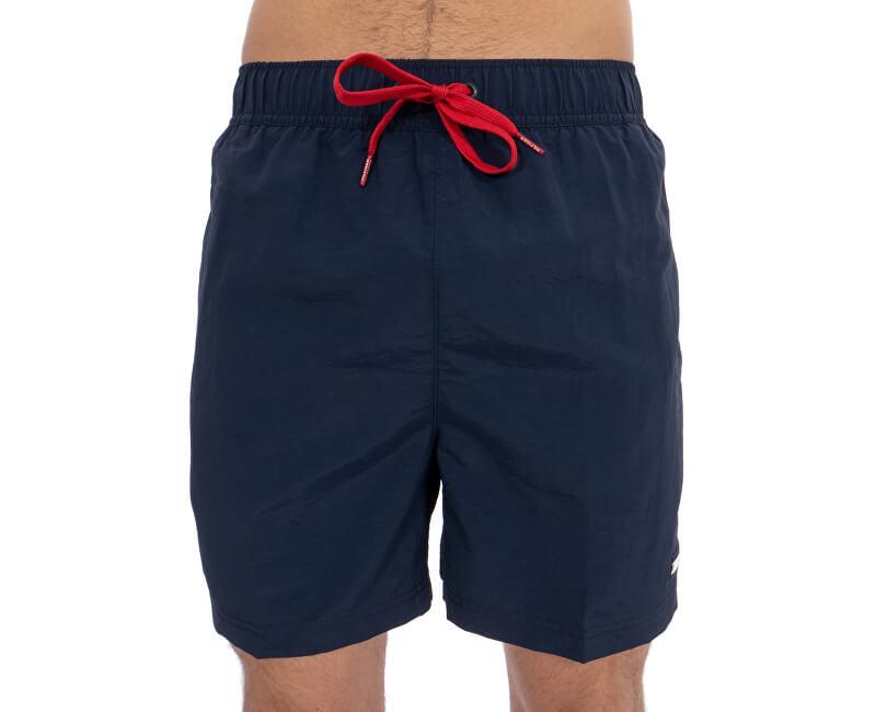 Tommy Hilfiger Plavkové kraťasy Slim Fit Medium Drawstring UM0UM01080-416 Navy Blazer