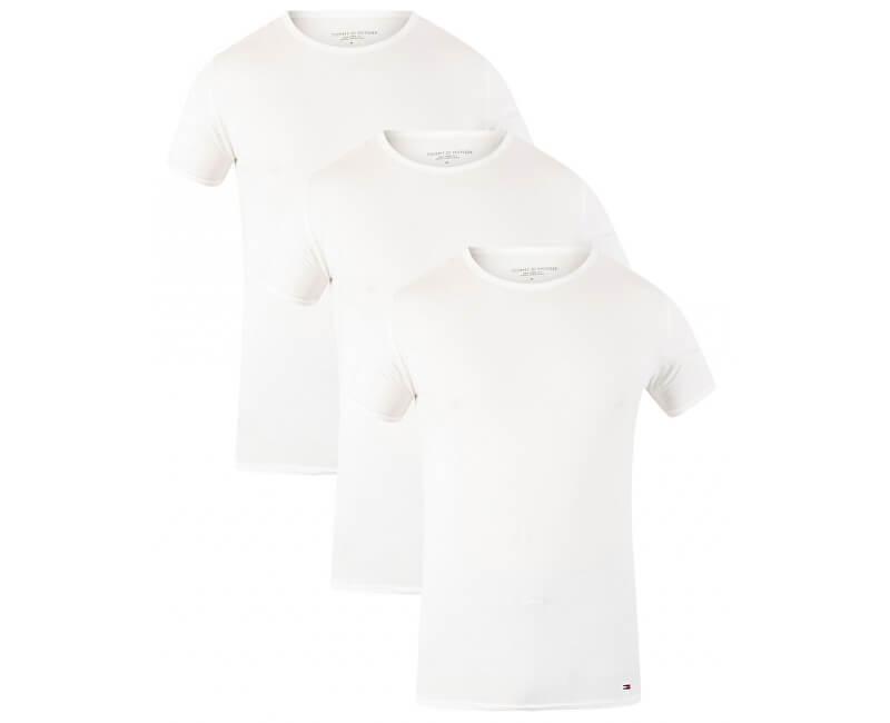 Tommy Hilfiger Setul de tricou Premium Essentials Cn Tee Ss 3 Pack 2S87905187-100 White