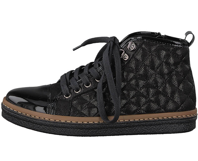 2f600de92d2c1 Tamaris Elegantné dámske členkové topánky 1-1-25725-39-098 ...