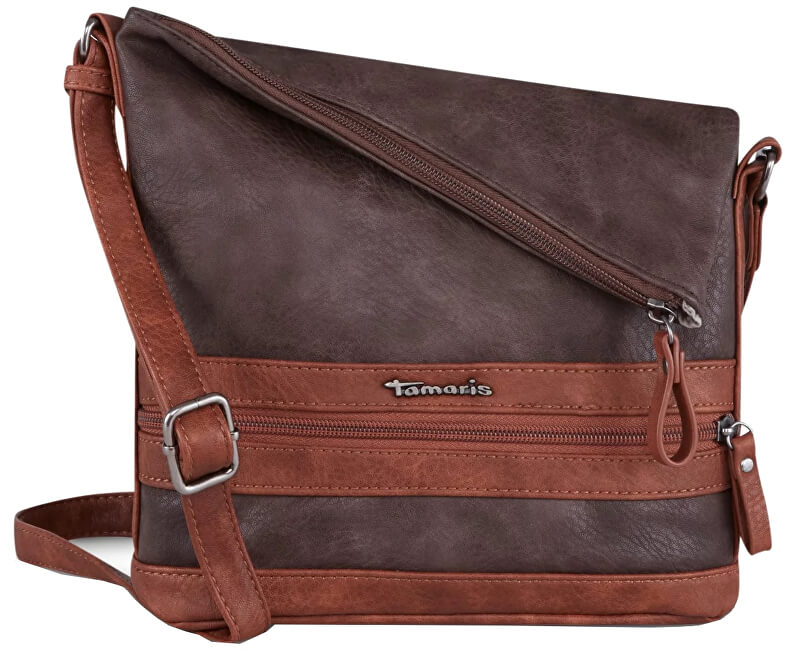 4db064c548 Tamaris Geantă crossbody Smirne Crossbody Bag 2932182-395 Dark Brown Comb.