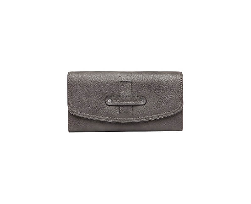 Tamaris Portofel pentru femei BERNADETTE Big Wallet With Flap Grey