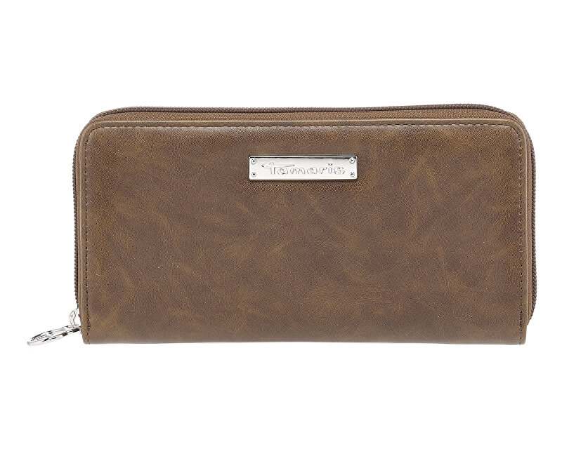 Tamaris Dámska peňaženka Maxim a Big Zip Around Wall et 7132182-305 Cognac d325d3b52e7