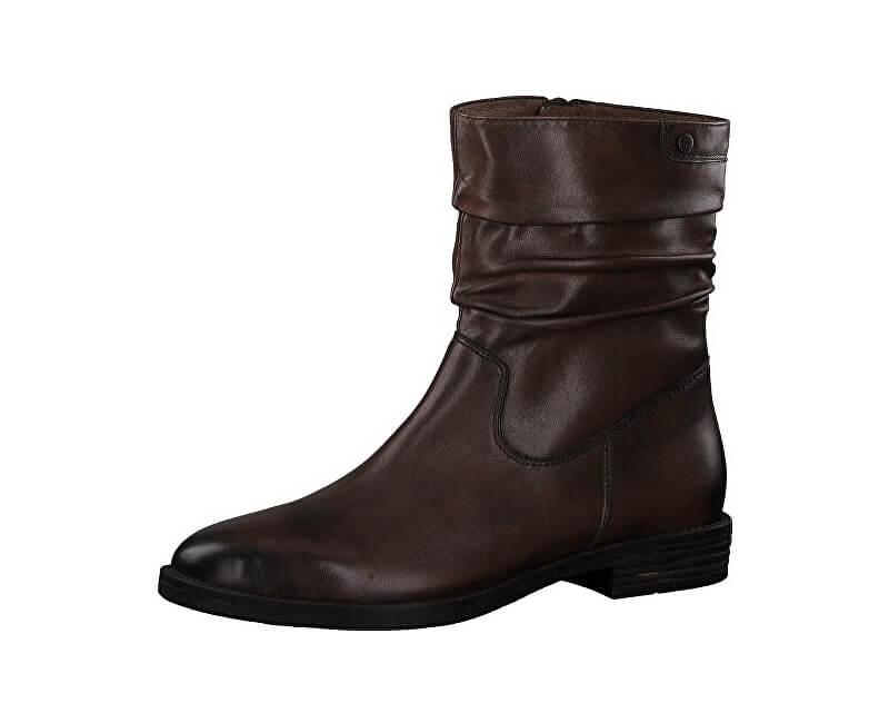 0cece6bc1032 Tamaris Dámské kotníkové boty 1-1-25014-21-305 Cognac Doprava ZDARMA ...