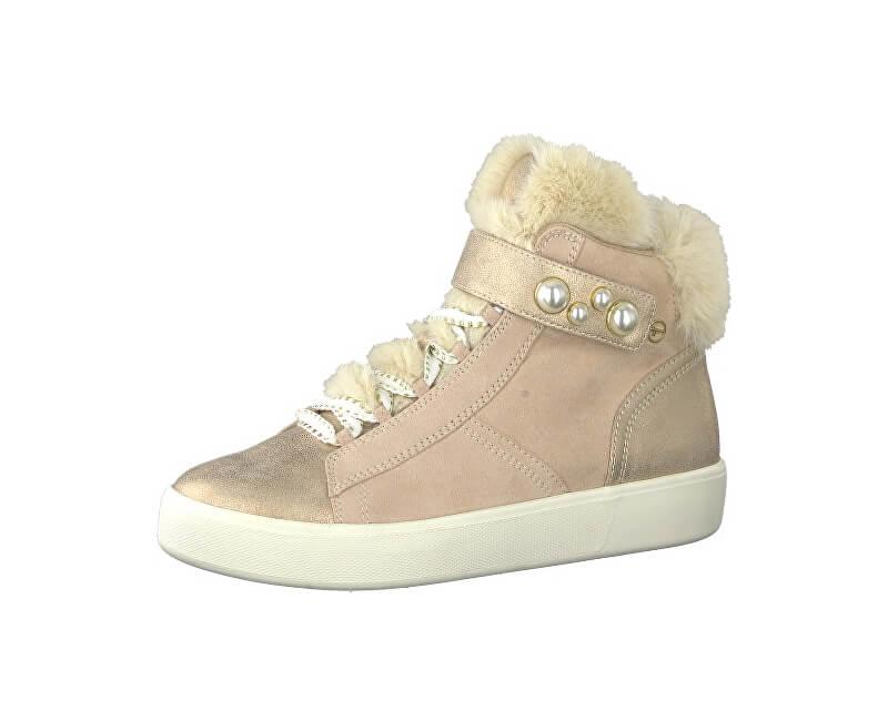 Tamaris Dámské kotníkové boty 1-1-25203-21-554 Rose Comb