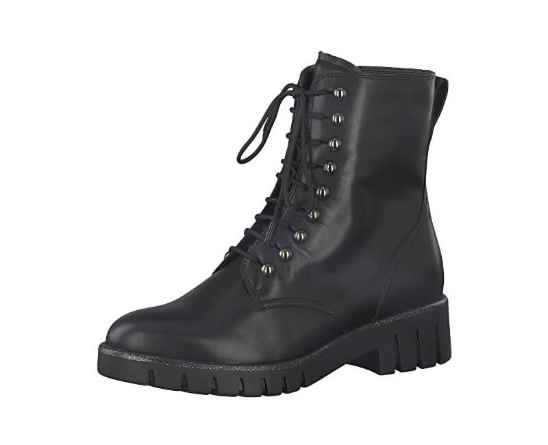 f782c71ee918 Tamaris Dámske členkové topánky 1-1-25232-21-001 Black Doprava ...