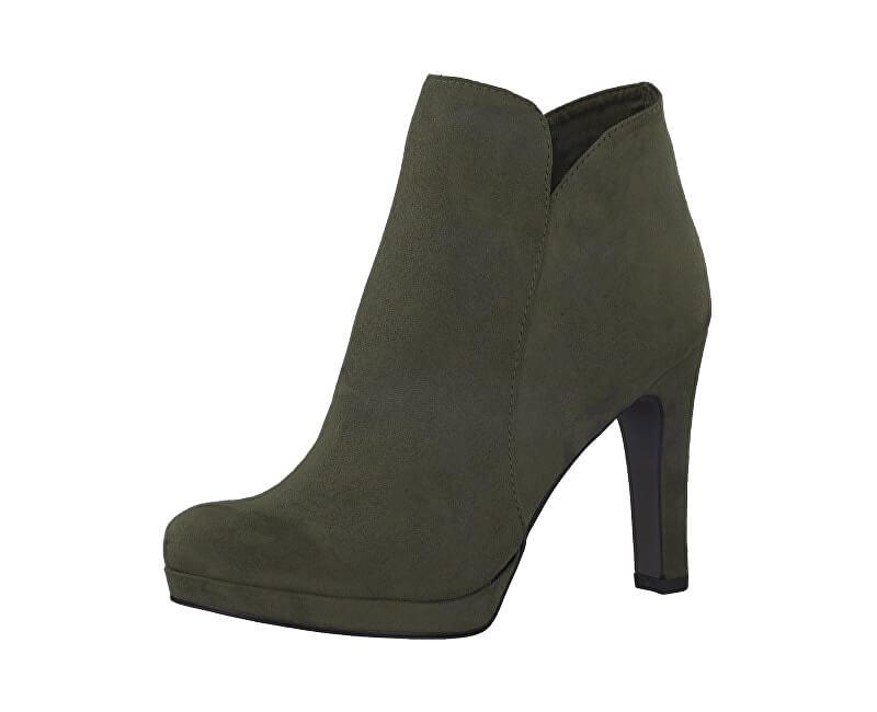 4a3e150d97 Tamaris Dámske členkové topánky 1-1-25316-21-722 Olive ...