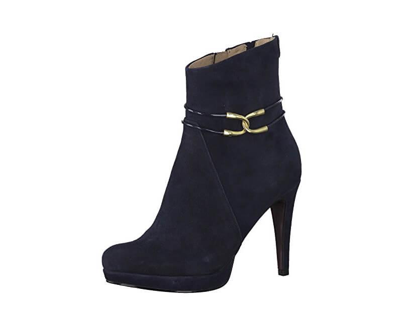 Tamaris Dámské kotníkové boty 1-1-25391-21-805 Navy