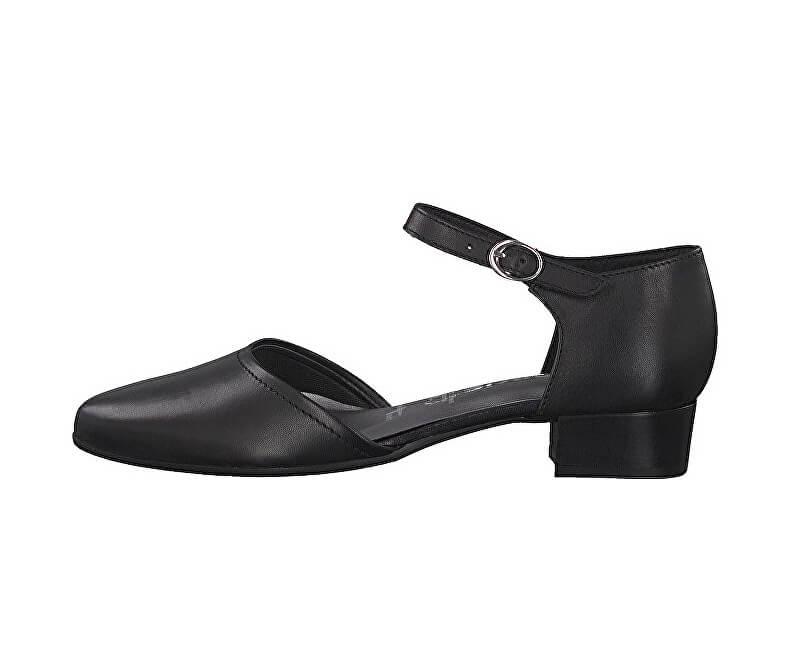 Tamaris Női alkalmi cipő 1-1-24210-22-003 Black Leather Ingyenes ... 552a6ec195