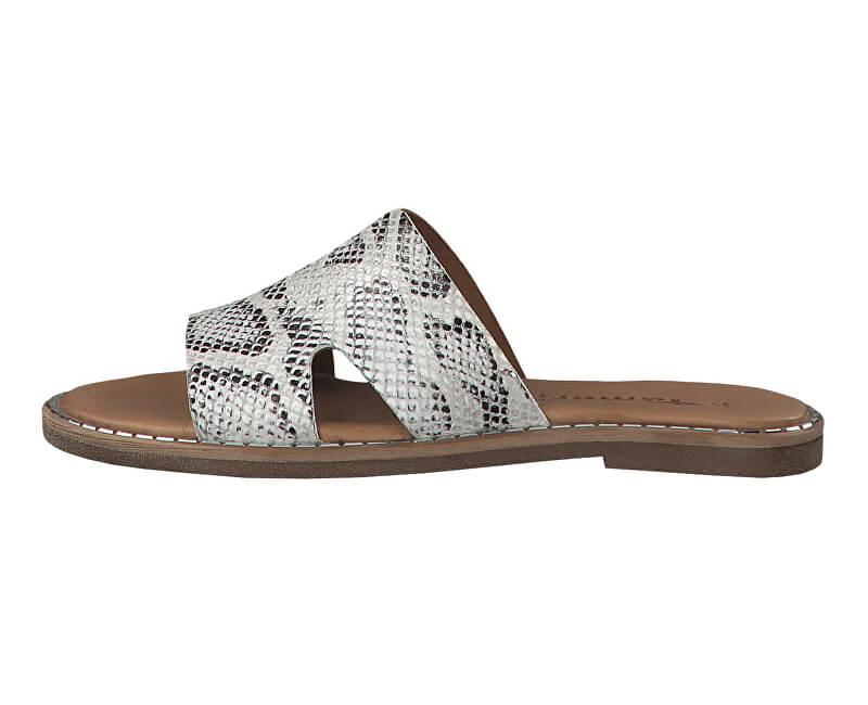Tamaris Dámské pantofle 1-1-27153-32-911 Grey Snake