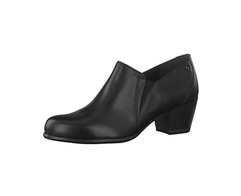 699c07a3e25a Tamaris Poltopánky 1-1-24400-21-003 Black Leather Doprava ZDARMA ...