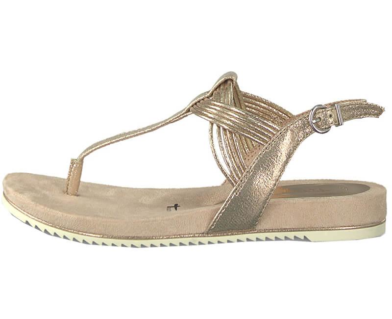 Tamaris Dámske sandále 1-1-28107-22-952 Rose Metallic