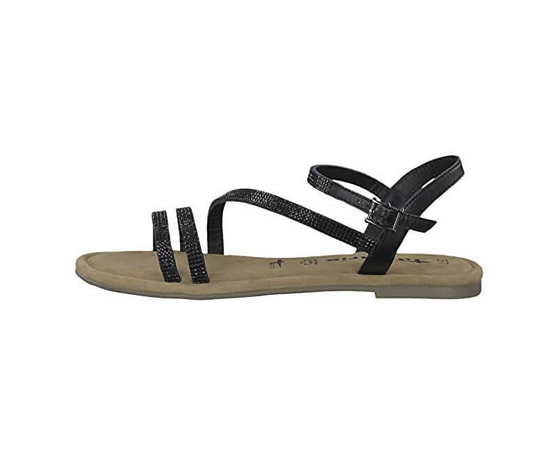 754ade95de Tamaris Dámské sandále 1-1-28113-22-047 Black Glam Novinka