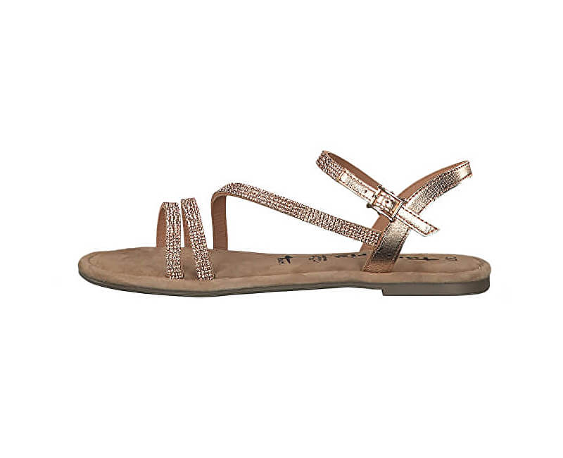 32cd11e4e0ef Tamaris Dámske sandále 1-1-28113-22-929 Copper Glam Novinka