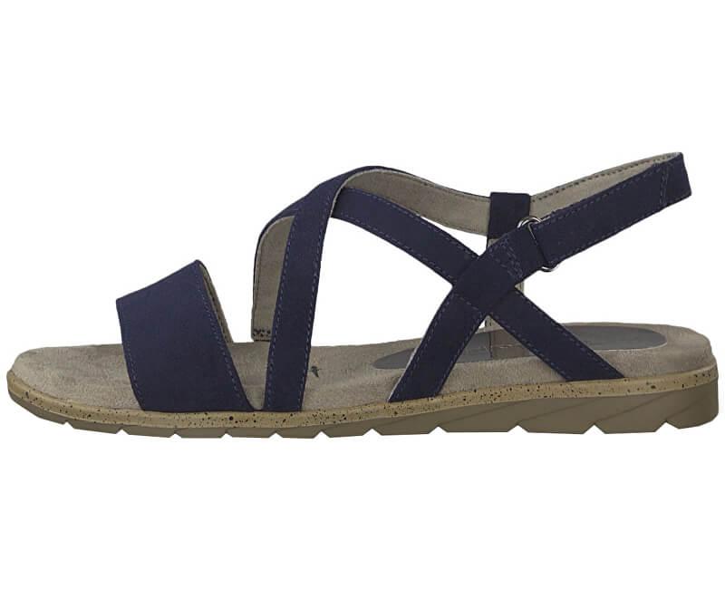 Tamaris Dámské sandále 1-1-28131-22-805 Navy