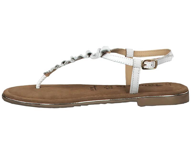 Tamaris Dámske sandále 1-1-28143-22-100 White