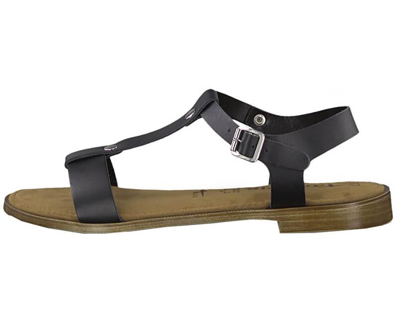 Tamaris Dámske sandále 1-1-28149-22-007 Black Uni