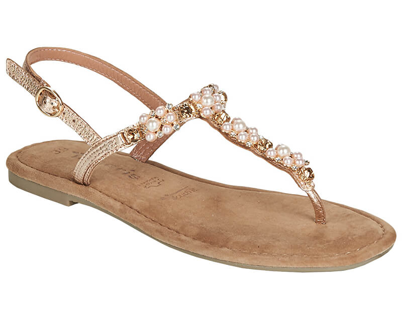 Tamaris Dámske sandále 1-1-28152-22-952 Rose Metallic