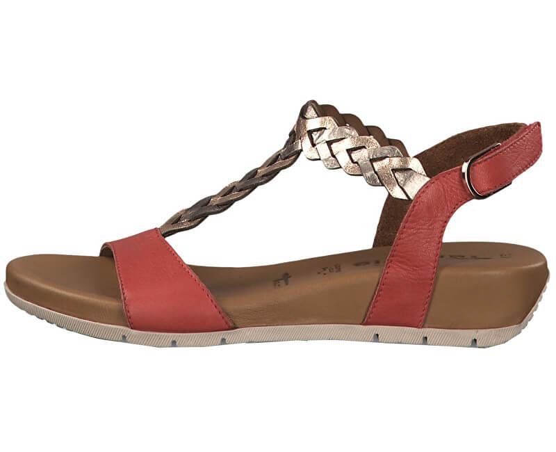 17c17c444683 Tamaris Dámské sandále 1-1-28231-22-597 Red Comb Doprava ZDARMA ...