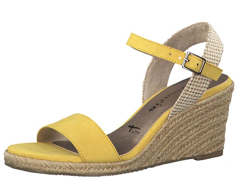 Tamaris Dámske sandále 1-1-28300-22 -673 Sun / Beige