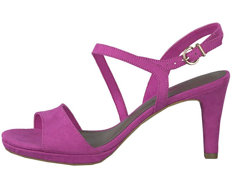 Tamaris Dámské sandále 1-1-28318-22-513 Fuxia