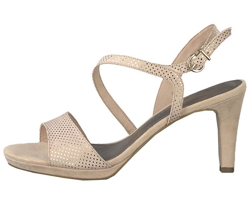 ecc3cab044e2 Tamaris Dámske sandále 1-1-28318-22-967 Rose Dots
