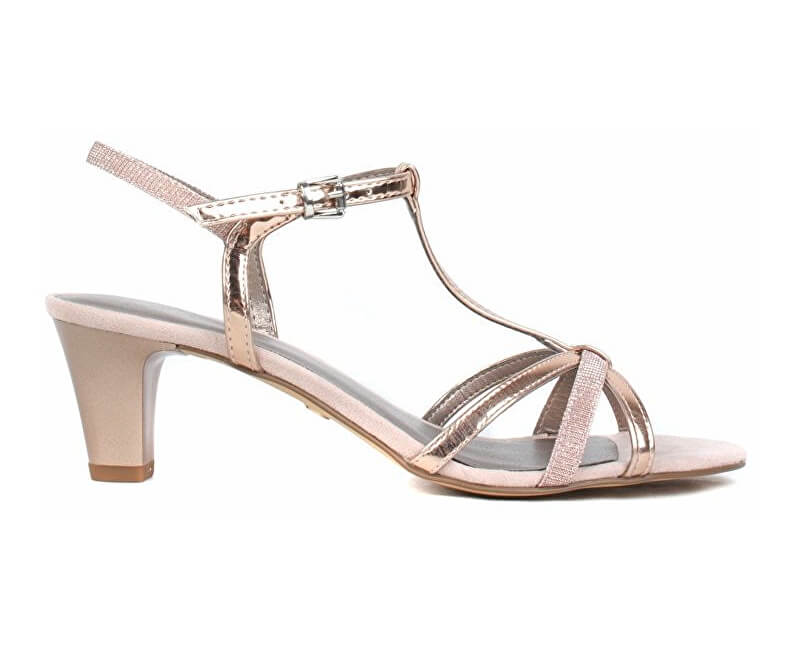 942085bbbb6e Tamaris Dámske sandále 1-1-28329-22-586 Rose Met Glam Novinka