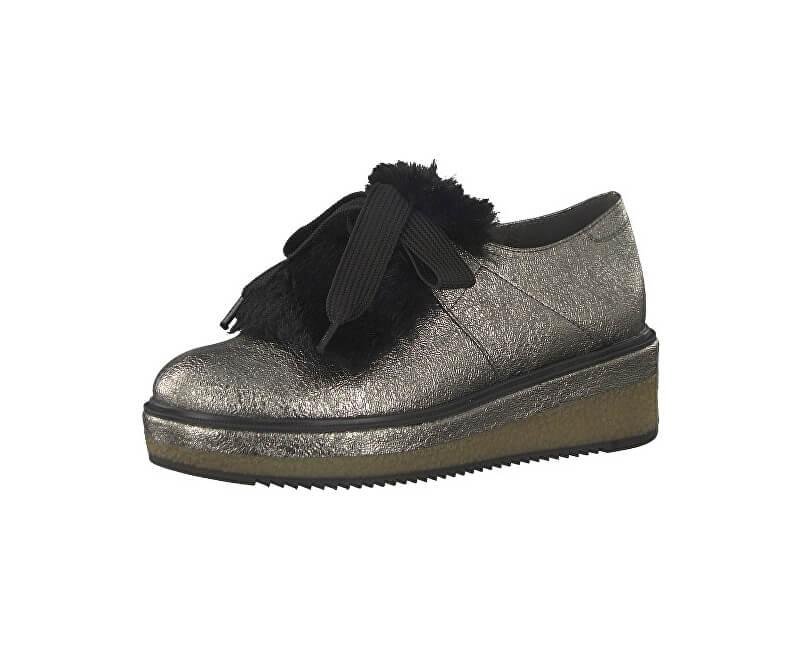 Tamaris Elegantní dámská obuv 1-1-24717-39-964 Pewter Struct.