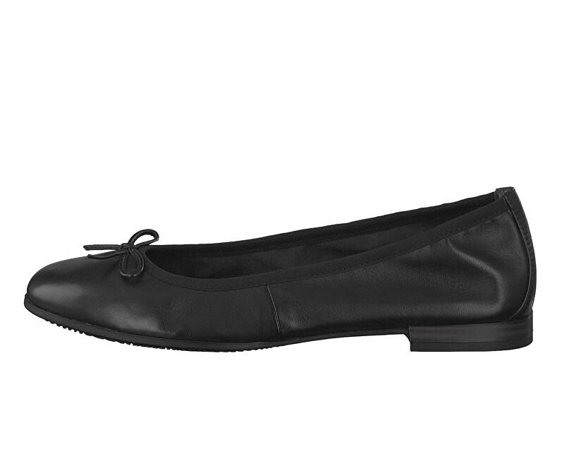 Tamaris Elegantní dámské baleríny 1-1-22116-22-001 Black