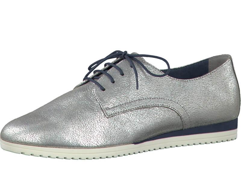 65882325d4 Tamaris Elegáns női dandy cipő 1-1-23630-28 Silver Antic | Vivantis ...