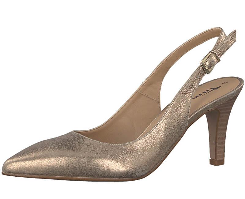 Tamaris Elegant pantofi 1-1-29614-38 Lt. de Gold Met.