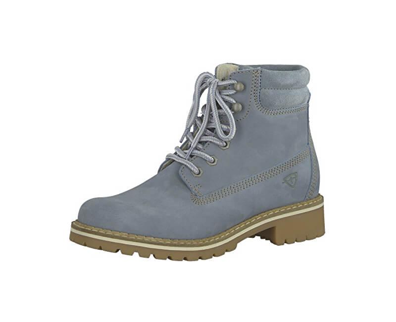 Tamaris Elegantní dámské kotníkové boty 1-1-25242-29-802 Denim