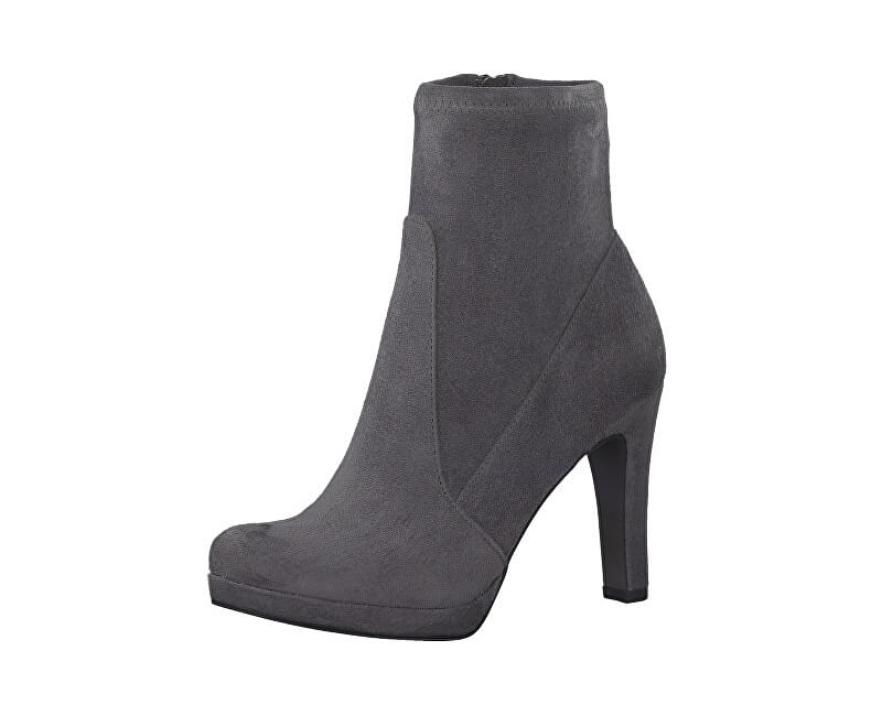 Tamaris Elegantní dámské kotníkové boty 1-1-25365-29-206 Graphite