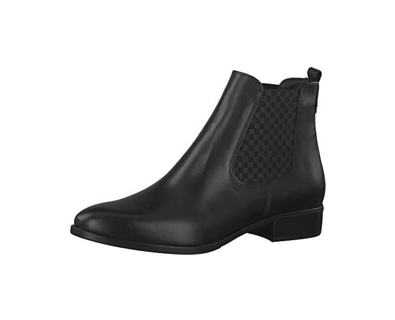 Tamaris Elegantní dámské kotníkové boty 1-1-25388-29-001 Black